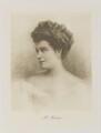 Marie Michelle Anne Sybille Dedons de Pierrefeu, Comtesse de Coligny (Mrs Meeking), by Bassano Ltd - NPG Ax161371