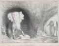 The State Cerberus (Arthur Wellesley, 1st Duke of Wellington; King William IV; Sir Robert Peel, 2nd Bt), by John ('HB') Doyle, printed by  Ducôte & Stephens, published by  Thomas McLean - NPG D41294