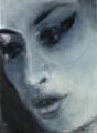 Amy Winehouse ('Amy-Blue'), by Marlene Dumas - NPG 6948