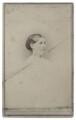 Hannah Smith (née Whitall) (Mrs Pearsall Smith), by John W. Hurn - NPG Ax160501