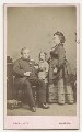 Called Charles Haddon Spurgeon with his wife and son, by John Inskip - NPG x26537