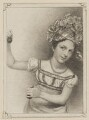Clara Maeder (née Fisher) when Miss Fisher as Madame Josephine in 'Actress of All Work', by John Rogers, published by  T & I Elvey, after  Thomas Charles Wageman - NPG D38627