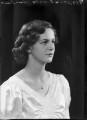 Lady (Sibell) Alma Kathleen Jolly (née Le-Poer-Trench), by Bassano Ltd - NPG x104454