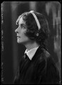 (Margaret) Elizabeth Jenkins, by Bassano Ltd - NPG x104667