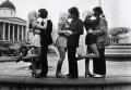 'Three Tremeloes and their fiancées announce their wedding plans in Trafalgar Square', by Kent Gavin - NPG x135754
