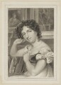 Maria Rebecca Davison (née Duncan) as Maria, by Thomas Wright, published by  Simpkin, Marshall & Chapel, after  Thomas Charles Wageman - NPG D38642