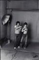 Tony Frank with Jane Birkin, by Tony Frank - NPG x135761