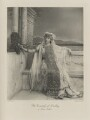 Rachel (née Gurney), Countess of Dudley as Queen Esther, by Henry Bullingham, photogravure by  Walker & Boutall - NPG Ax41080