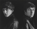 The Beatles (George Harrison; John Lennon), by Astrid Kirchherr - NPG P1692