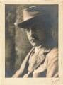 Edward Plunkett, 18th Baron Dunsany, by Emil Otto ('E.O.') Hoppé - NPG P1694