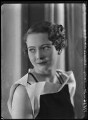 Lady Patricia Margery Kathleen Fairweather (née Mackay), by Bassano Ltd - NPG x104847