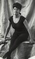 Annette Marie Sarah Kellerman, by Henry Walter ('H. Walter') Barnett - NPG x135806