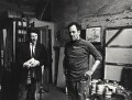 Lucian Freud; Frank Auerbach, by Harry Diamond - NPG x135767