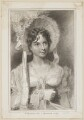Elizabeth Yates (née Brunton) as Miss Hardcastle in Goldsmith's 'She Stoops to Conquer', by Thomas Woolnoth, published by  Simpkin and Marshall, after  Thomas Charles Wageman - NPG D38660