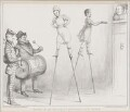 Going it on Stilts to Appropriate Music, by John ('HB') Doyle, printed by  Ducôte & Stephens, published by  Thomas McLean - NPG D41330