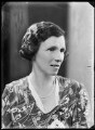 Hon. Eileen Agnes Fitzherbert-Brockholes (née French), by Bassano Ltd - NPG x105017