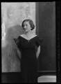 Dorothy (née Downing, later Gundersen), Viscountess Tarbat, by Bassano Ltd - NPG x105046