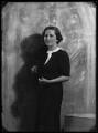 Dorothy (née Downing, later Gundersen), Viscountess Tarbat, by Bassano Ltd - NPG x105047