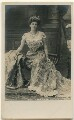 Mary Victoria (née Leiter), Lady Curzon of Kedleston, by Albert Edward Jeakins, published by  Rapid Photo Co - NPG x135954