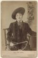 May Yohé as Dick Whittington in 'Dandy Dick Whittington', by Alfred Ellis - NPG x135955