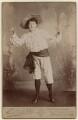 May Yohé as Little Christopher Columbus, by Richard Emerson Ruddock - NPG x135956