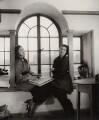 Julia Heseltine; Anna Zinkeisen, by Tom Blau, for  Camera Press: London: UK - NPG x135962