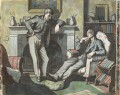 Eric William Ravilious; Edward Bawden, by Michael Rothenstein - NPG 6938