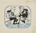 Sir (Robert) Charles Evans; John Hunt, Baron Hunt, by John Musgrave-Wood ('Emmwood') - NPG D42312