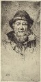 Unknown sitter ('A Cornish Fisherman'), by Alfred Hartley - NPG D42315
