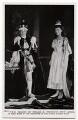 Prince Edward, Duke of Windsor (King Edward VIII); Princess Mary, Countess of Harewood, by Campbell-Gray, published by  J. Beagles & Co - NPG x136044