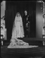 Wedding of Queen Elizabeth II and Prince Philip, Duke of Edinburgh, by Bassano Ltd - NPG x105247
