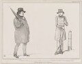 Beggary and Independence (Daniel O'Connell; Daniel Whittle Harvey), by John ('HB') Doyle, printed by  Alfred Ducôte, published by  Thomas McLean - NPG D41378