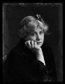 Dame Edith Sophy Lyttelton (née Balfour), by Bassano Ltd - NPG x105657