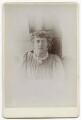 Jane Alice ('Jenny') Morris, by Unknown photographer - NPG x136261