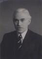 Sir Alfred Charles Glyn Egerton, by Walter Stoneman - NPG x167361