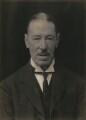 Sir Thomas Henry Elliott, 1st Bt, by Walter Stoneman - NPG x167380