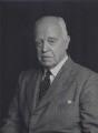 Sir Geoffrey Evans, by Walter Stoneman - NPG x167438