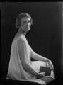 Violet Olivia Cressy-Marcks (née Rutley, later Fisher), by Lafayette (Lafayette Ltd) - NPG x169277