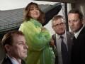James Kirwan Heverin; Dame Zaha Hadid; Stuart Fraser; Michael Craig King, by Brian Griffin - NPG P1718