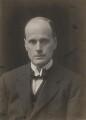 Sir Walter Morley Fletcher, by Walter Stoneman - NPG x167580