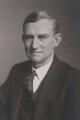 Sir Cyril Fred Fox, by Walter Stoneman - NPG x167635