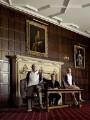 John Hurst; David Faulkner; Daniel ('Danny') Kerry, by Anderson & Low - NPG P1803