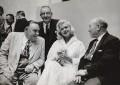 Jayne Mansfield; Edward ('Ted') Hill; Morgan Phillips; William John Carron, Baron Carron, by Neil Libbert - NPG x136291