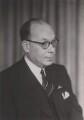 Sir Eric Alexander Franklin, by Walter Stoneman - NPG x167647