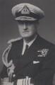 Bruce Austin Fraser, 1st Baron Fraser of North Cape, by Walter Stoneman - NPG x167653