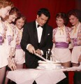 Frankie Vaughan's 30th Birthday at the Palace Theatre, by Bob Collins - NPG x136320