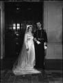 Hon. Neville Archibald John Napier; Eileen Napier (née Thorne), by Bassano Ltd - NPG x158265