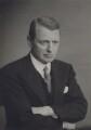 George Morgan Trefgarne (né Garro-Jones), 1st Baron Trefgarne, by Walter Stoneman - NPG x167758