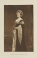 Grace (née Blackburn), Countess of Wemyss as Katherine of Aragon, by Langfier Ltd, published by  Hudson & Kearns Ltd - NPG Ax135770