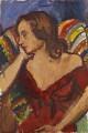 Angelica Vanessa Garnett (née Bell), by Sir Matthew Smith - NPG 6951